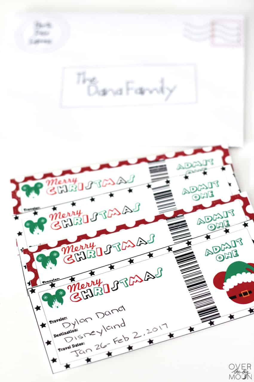 printable tickets