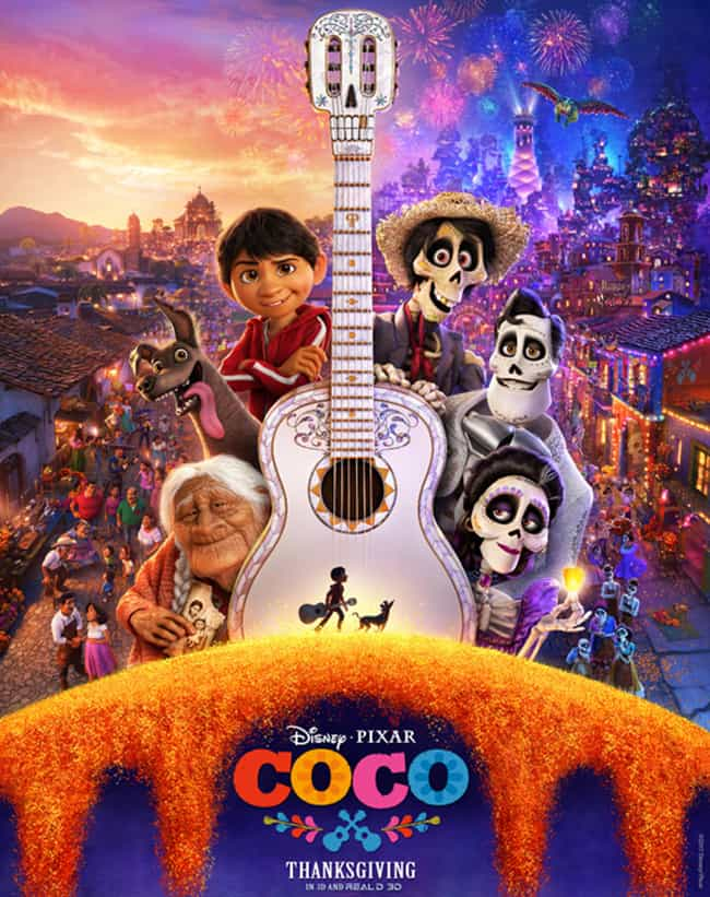 Disney Pixar Coco Movie Review and Kids Activities! From overthebigmoon.com!