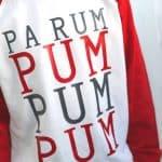 Christmas Carol inspired Christmas Pajamas's - create the perfect Christmas pajamas from lyrics from Christmas Carols! From overthebigmoon.com