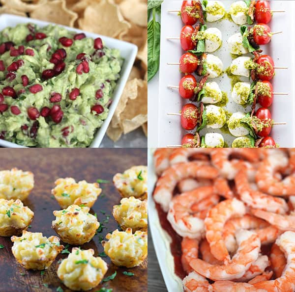 Top 25 new years eve appetizers over the big moon for Appetizer ideas for new years eve party
