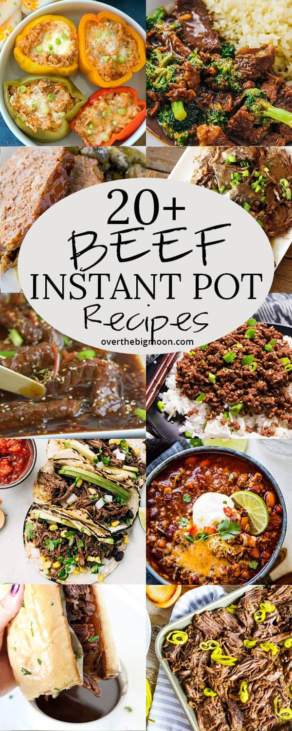 These Must-Try Instant Pot Beef Recipes are sure to help make your life run little smoother and help provide some tasty dinners to your family! These recipes are mostly classic recipes adapted to work in your Instant Pot and all have beyond tasty flavors!