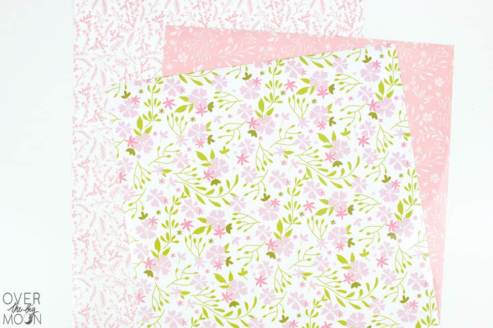 Cricut's Patterned Iron On is the perfect way to add some extra personality to your projects! From overthebigmoon.com!