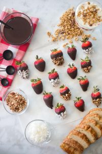 Recipe for Chocolate Covered Strawberries