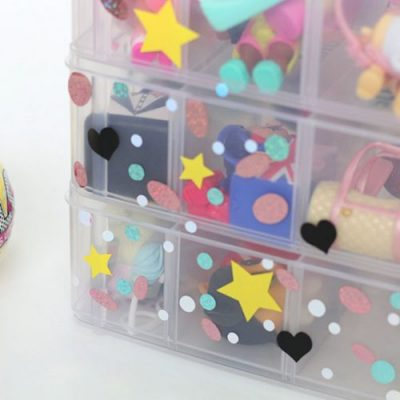 LOL Surprise Doll Container for Big Sisters and Lil Sisters and Pets! From overthebigmoon.com!