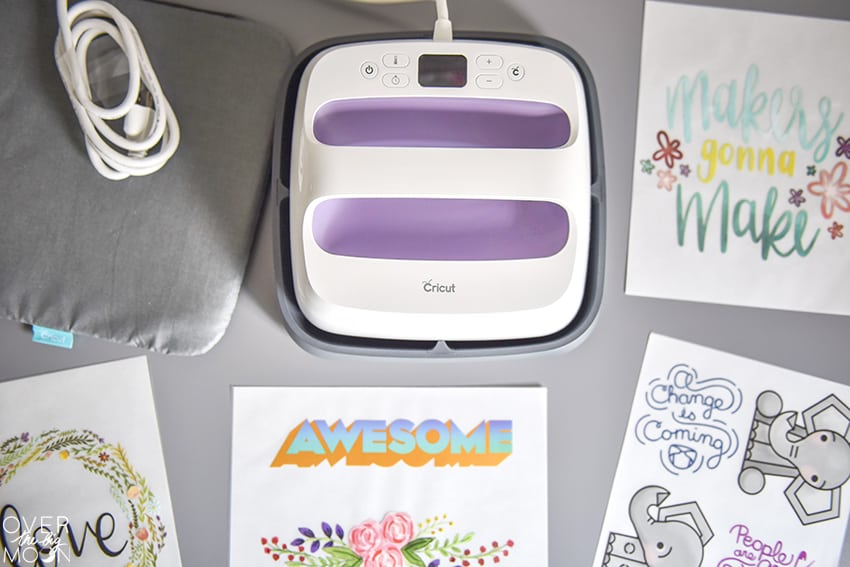 Cricut Wisteria EasyPress Bundle from overthebigmoon.com!