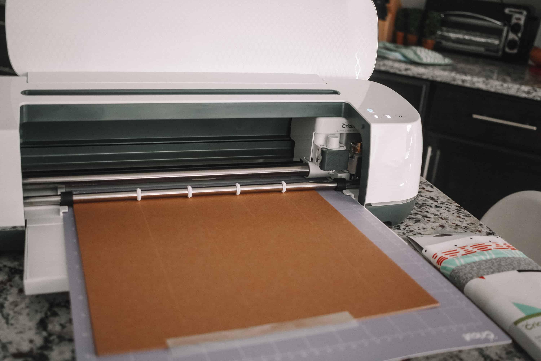 cricut cutting chipboard
