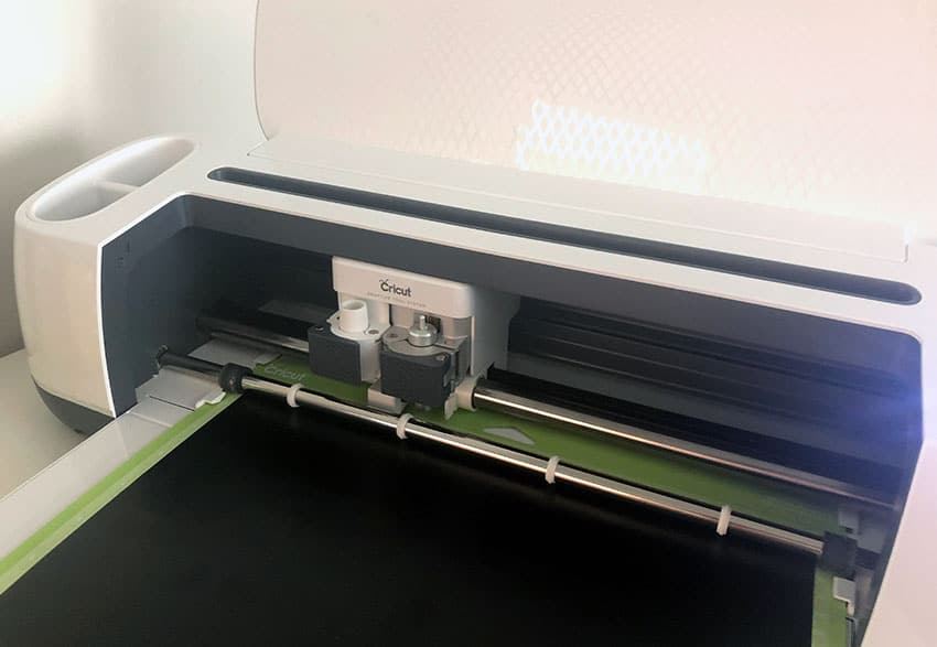 Load the Cricut Maker with the Mat from overthebigmoon.com!