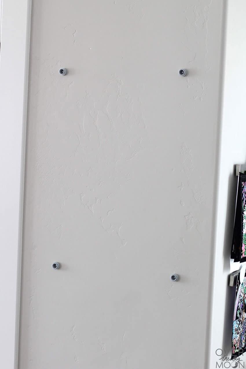 KLUDD Noticeboard from IKEA Installation. From overthebigmoon.com!