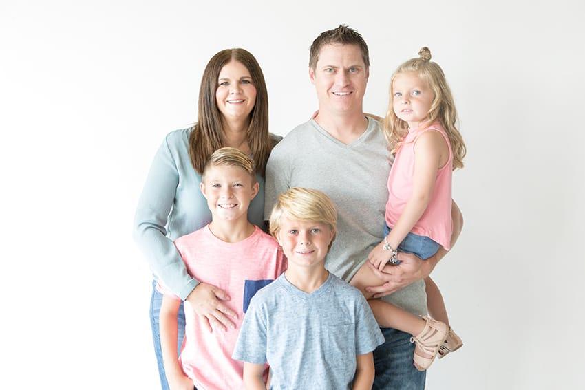 The Dana Family from overthebigmoon.com