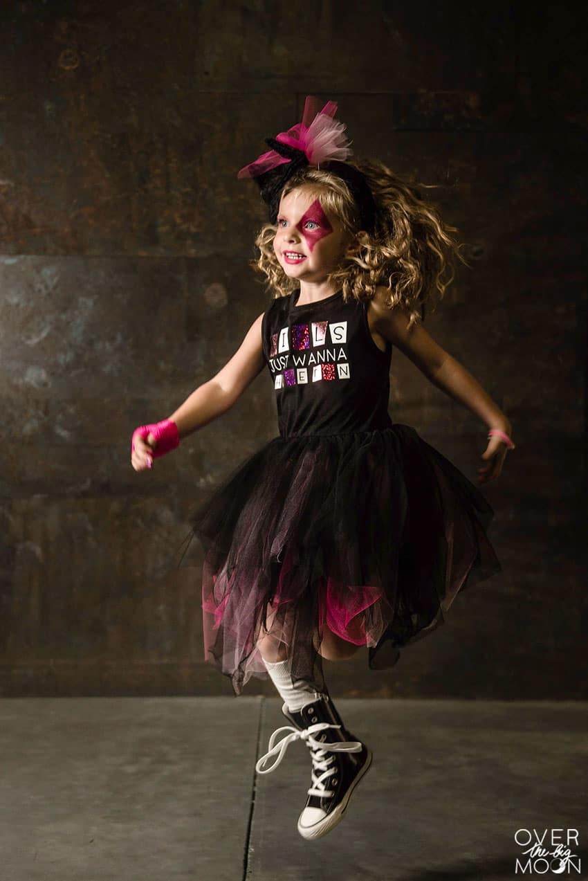 Little Girls Rocker Costume! From overthebigmoon.com!