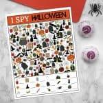 Halloween I Spy Game | overthebigmoon.com