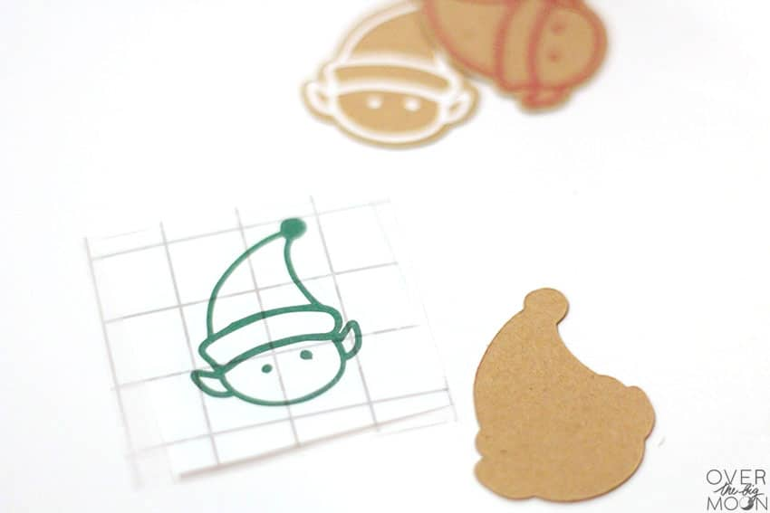 Little Elf Vinyl to apply to Kraftboard for Straw Toppers! From overthebigmoon.com!