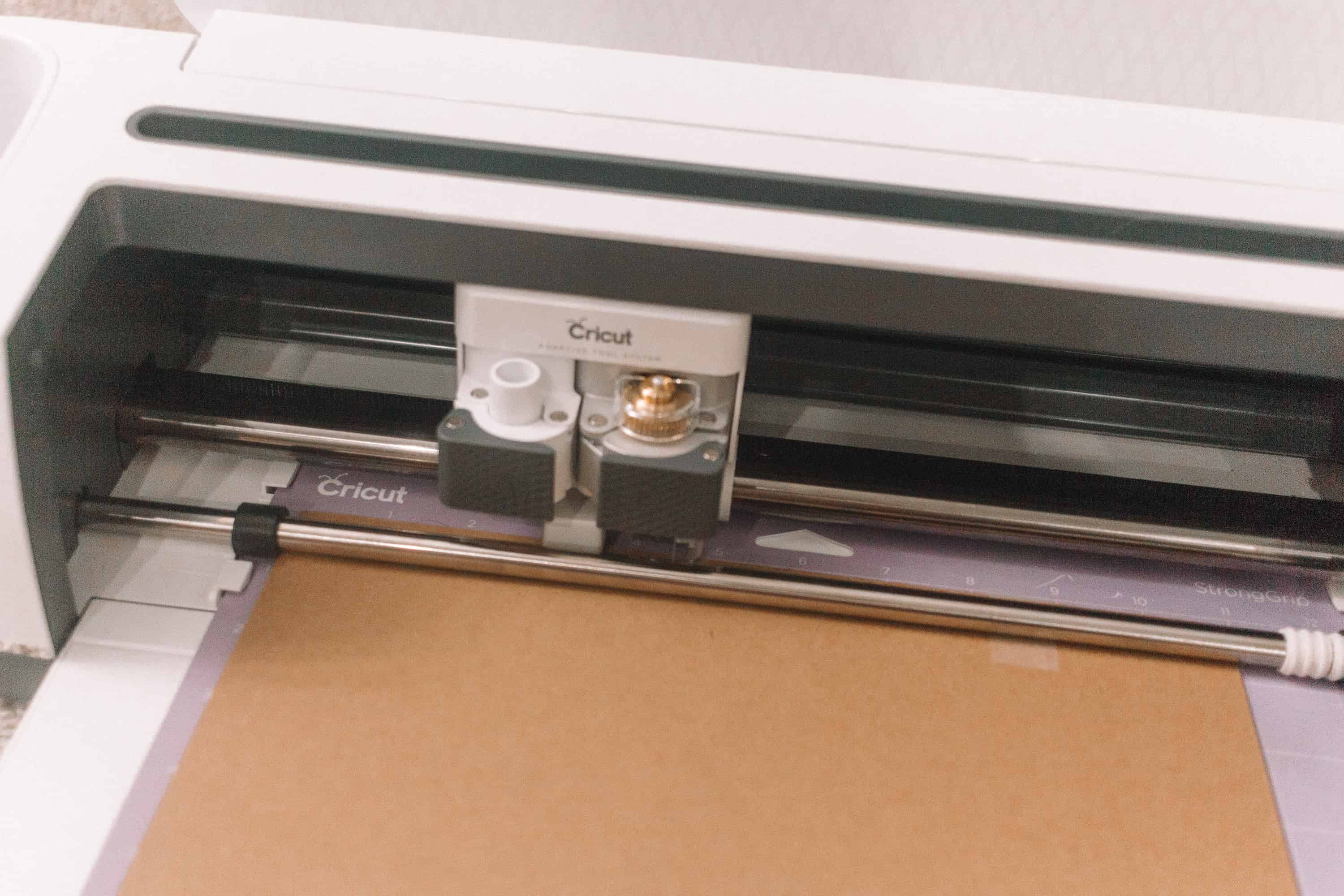 Cutting and Engraving Chipboard with your Cricut Maker! From overthebigmoon.com!