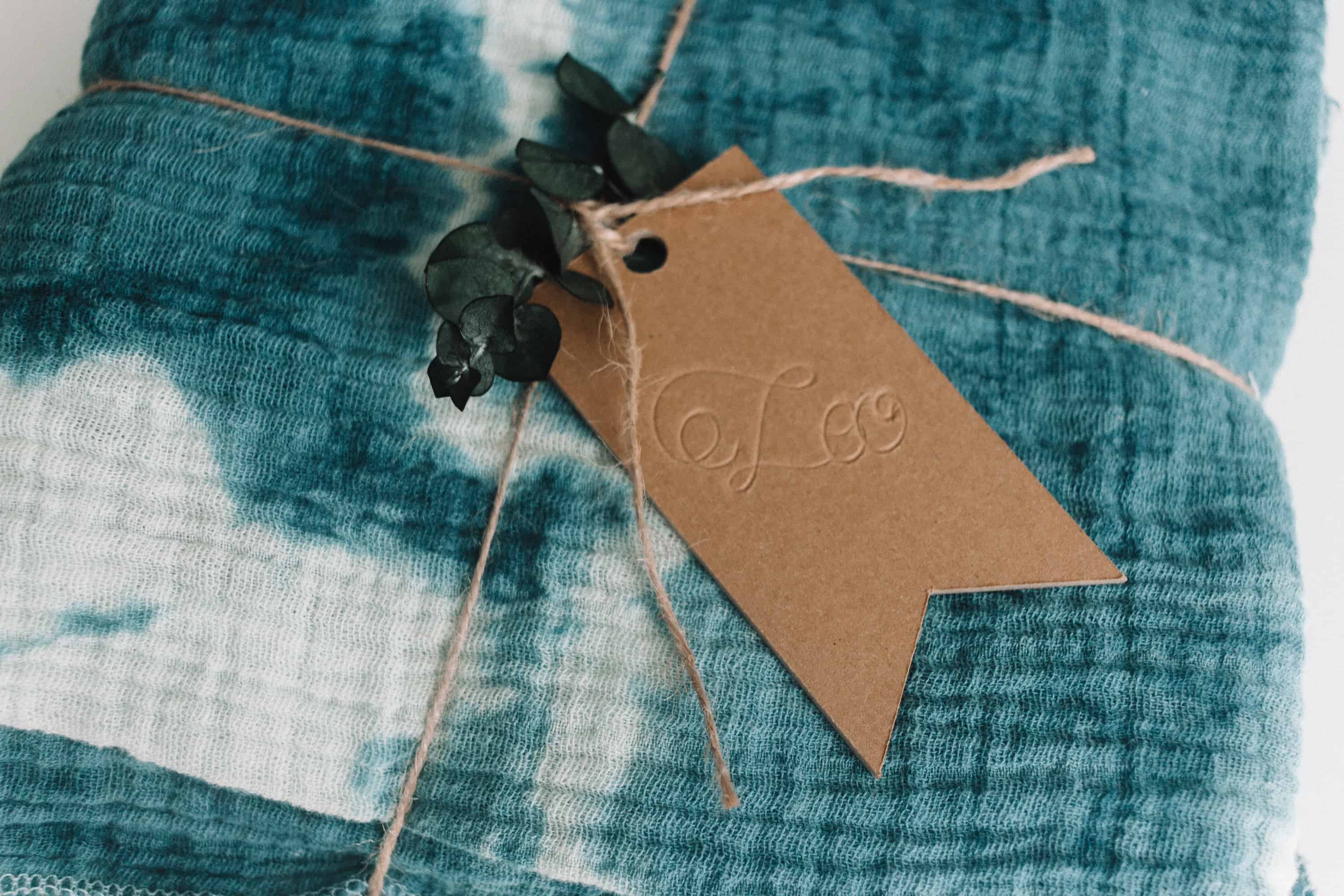 Engraved Gift Tags made with your Cricut Maker and Cricut Scoring Wheel! From overthebigmoon.com!