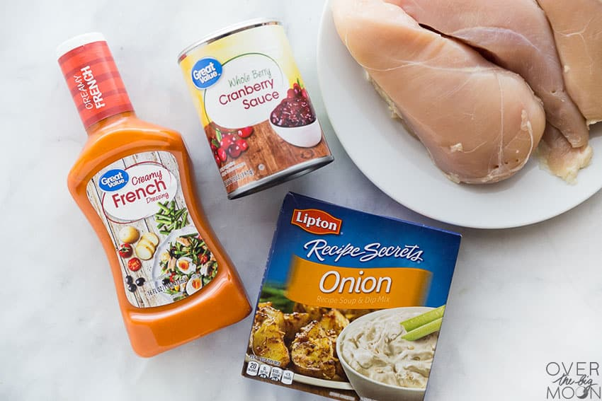 Ingredients for French Chicken from overthebigmoon.com!