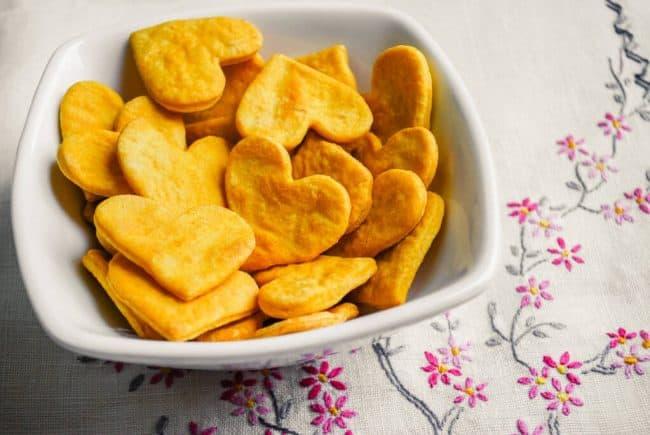 Valentine's Day Snack Ideas from overthebigmoon.com!
