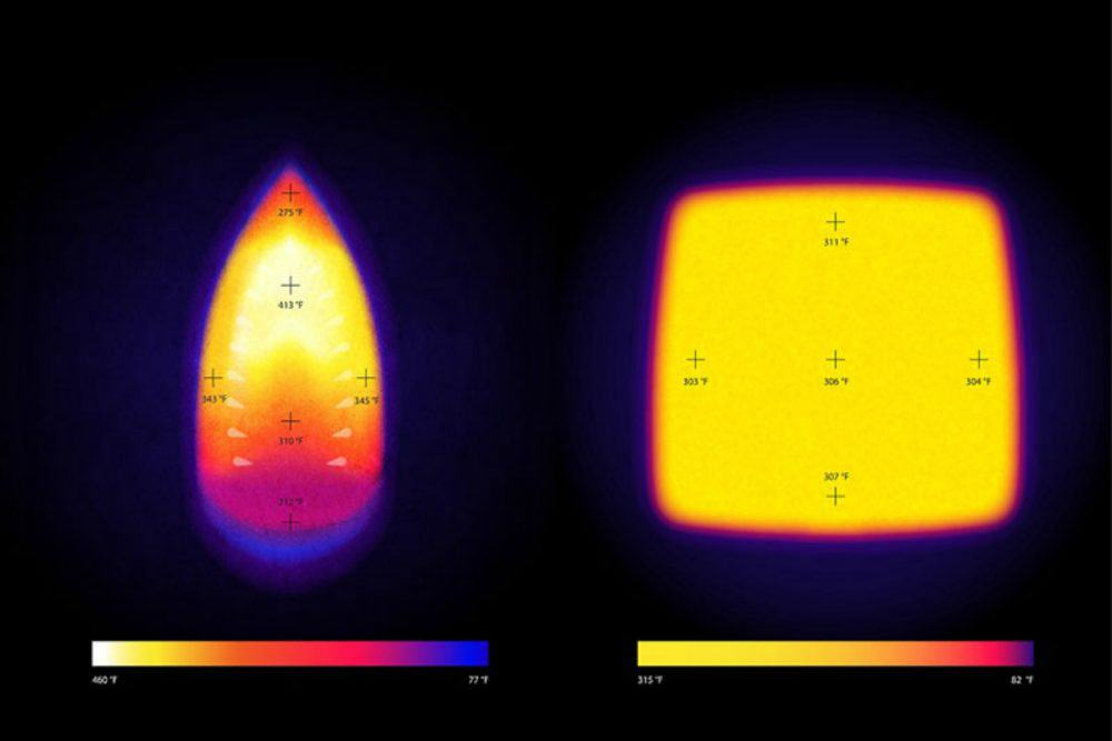 The difference in the heat consistency in an EasyPress vs a home iron! From overthebigmoon.com!