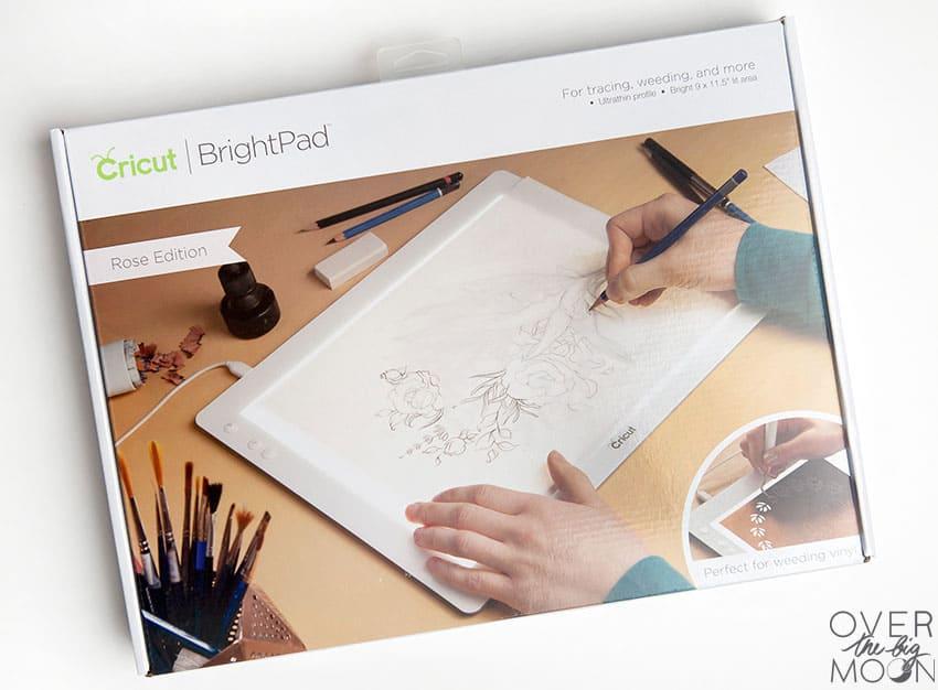 Cricut BrightPad - from overthebigmoon.com