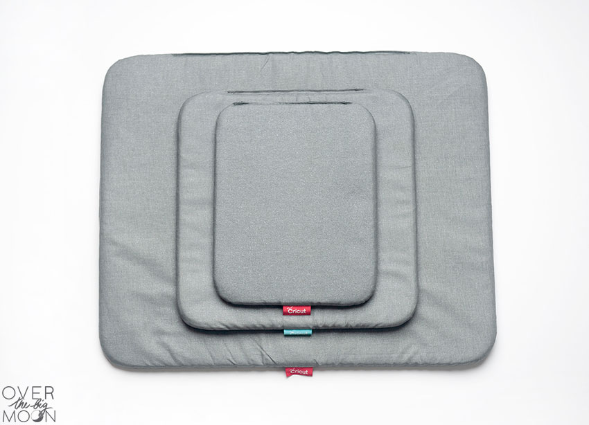 The three sizes of the EasyPress Mat!