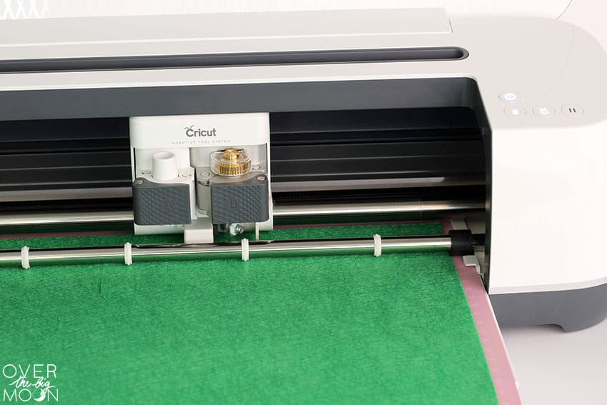 The Cricut Maker cutting Felt!