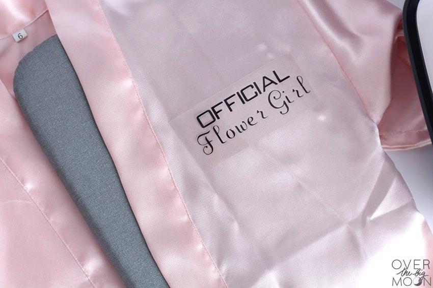 Official Flower Girl Robe