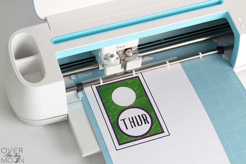 Cricut Maker cutting Print then Cut File!