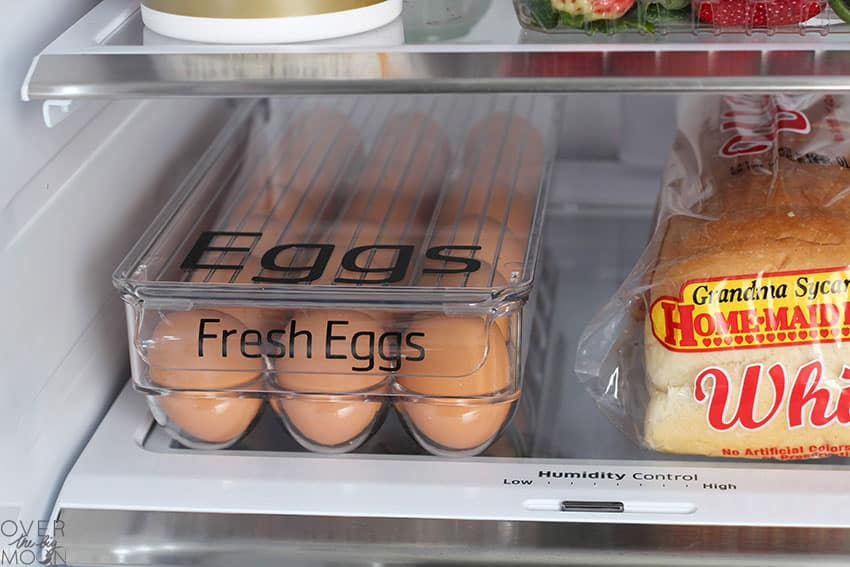 Clear Egg Container for the fridge.