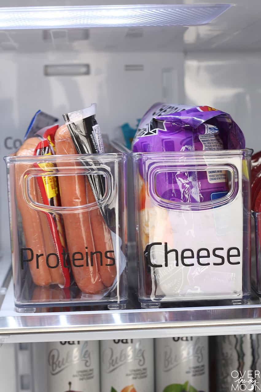 Proteins and Cheese containers