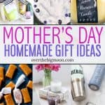A complete Mother's Day Gift Guide! Come find something homemade to give the moms in your life to make them feel special!From overthebigmoon.com!