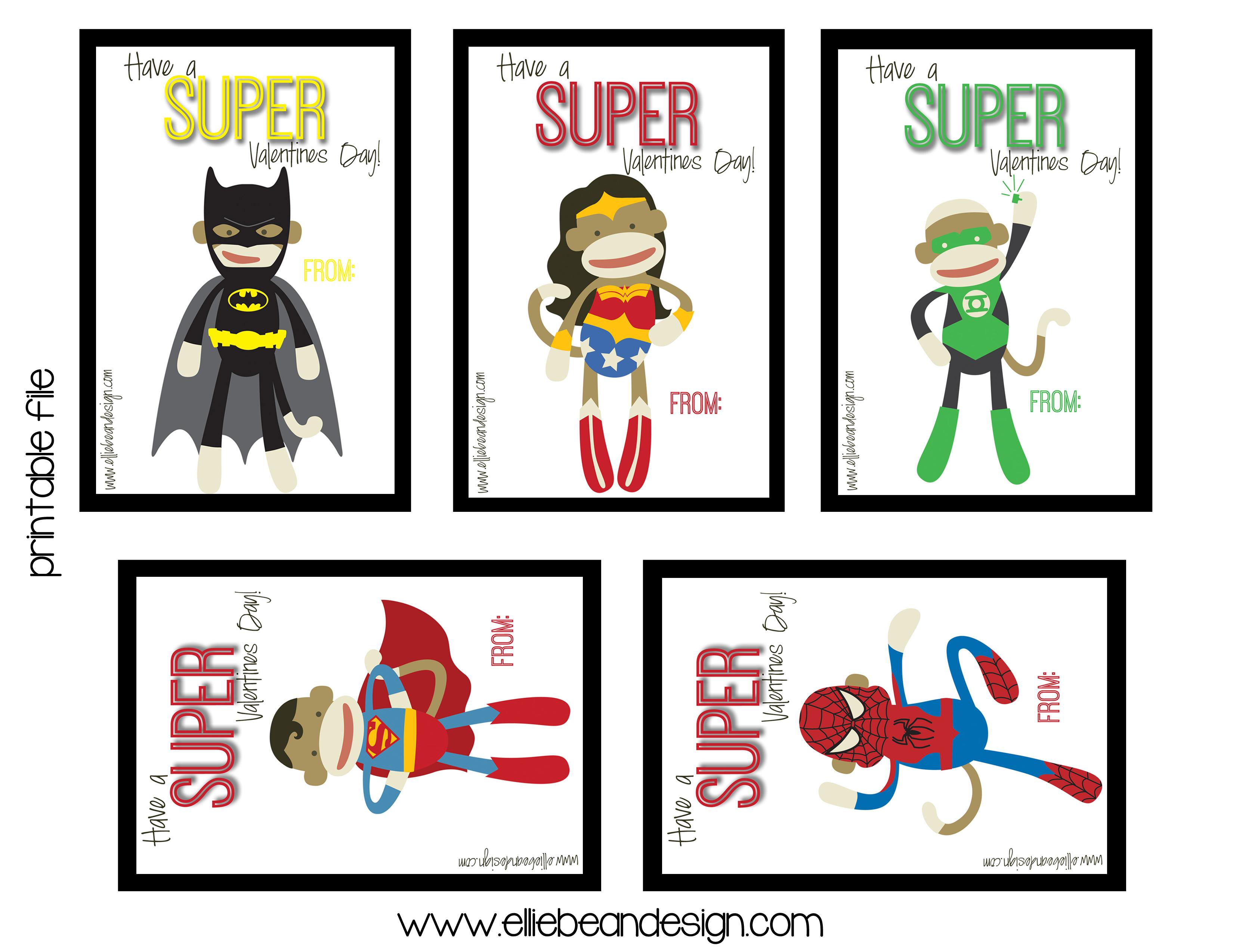 Lyndi From Ellie Bean Design Sock Monkey Super Hero