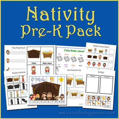 NativityButtonsmall Nativity Pre K Pack