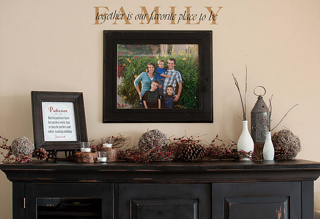 DSC 0141 Winter Mantle + Free Printable