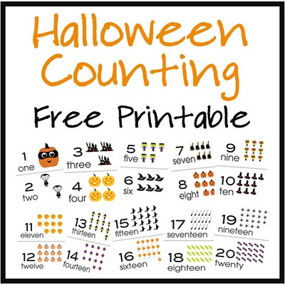 HalloweenCountingbutton Halloween Counting Cards