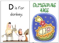 xmas.abcs Nativity Pre K Pack