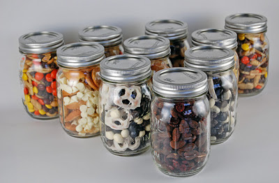 snack mix jars grouped Neighbor Gift   Jar Label Printable