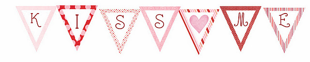 Over the big moon valentines day bunting and poster printables over