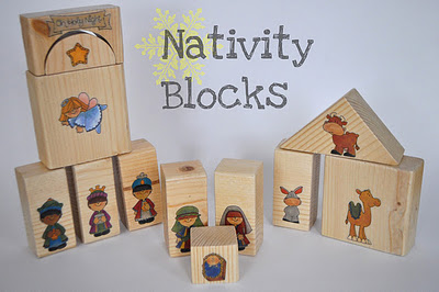 nativity%2Bblocks Nativity Pre K Pack
