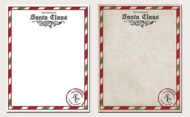 Untitled 1 Letter from Santa Printable